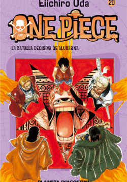 Manga One Piece Tomo 20