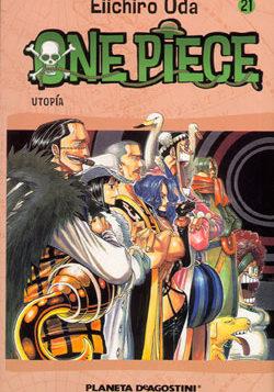 Manga One Piece Tomo 21