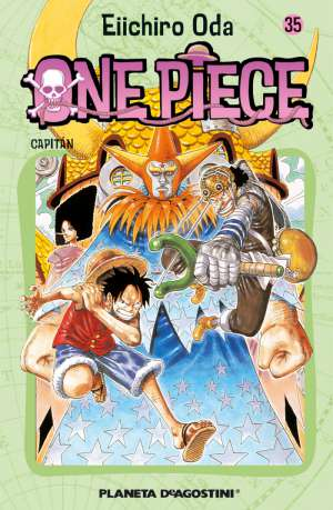 Manga One Piece Tomo 35