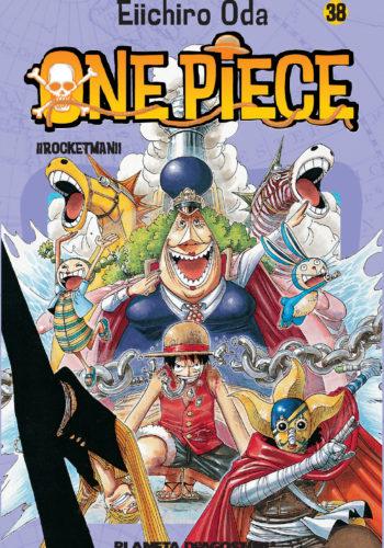 Manga One Piece Tomo 38