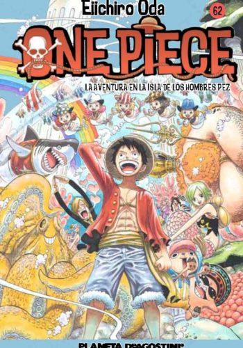 Manga One Piece Tomo 62