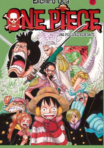 Manga One Piece Tomo 67
