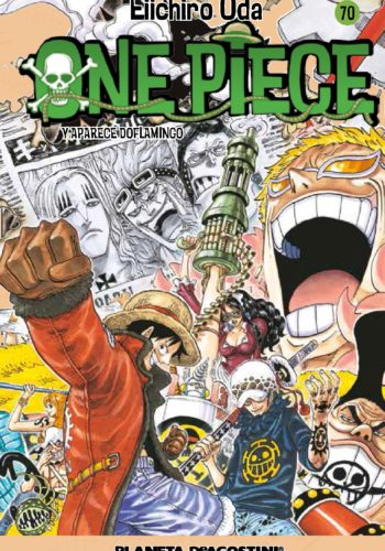 Manga One Piece Tomo 70
