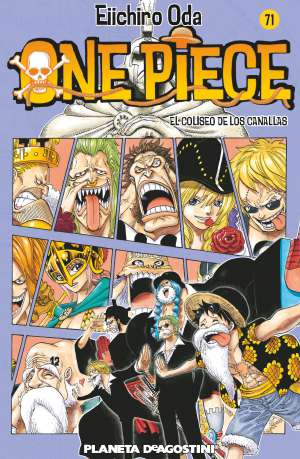 Manga One Piece Tomo 71