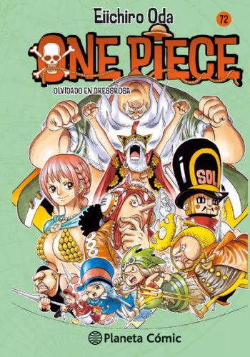 Manga One Piece Tomo 72