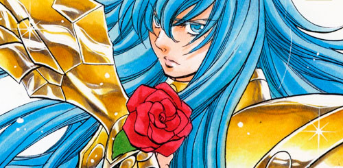 Manga Saint Seiya The Lost Canvas Anecdotas ficha tecnica