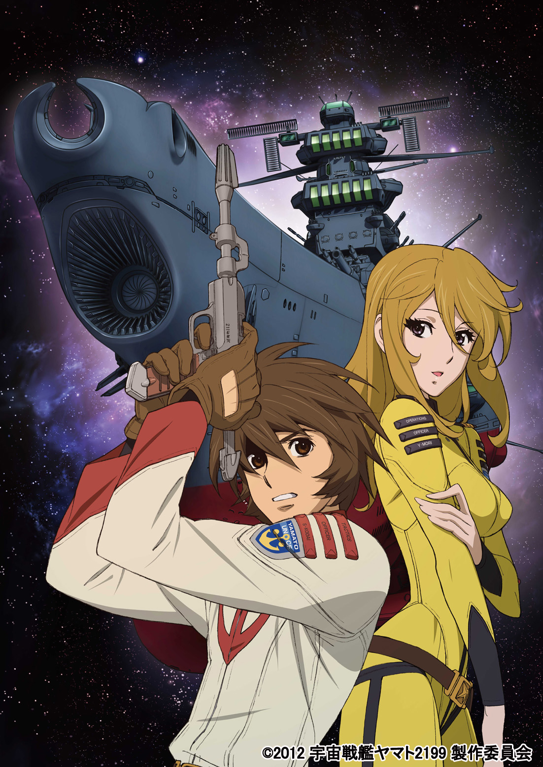 Nuevo anime Uchuu Senkan Yamato 2199 en 2016